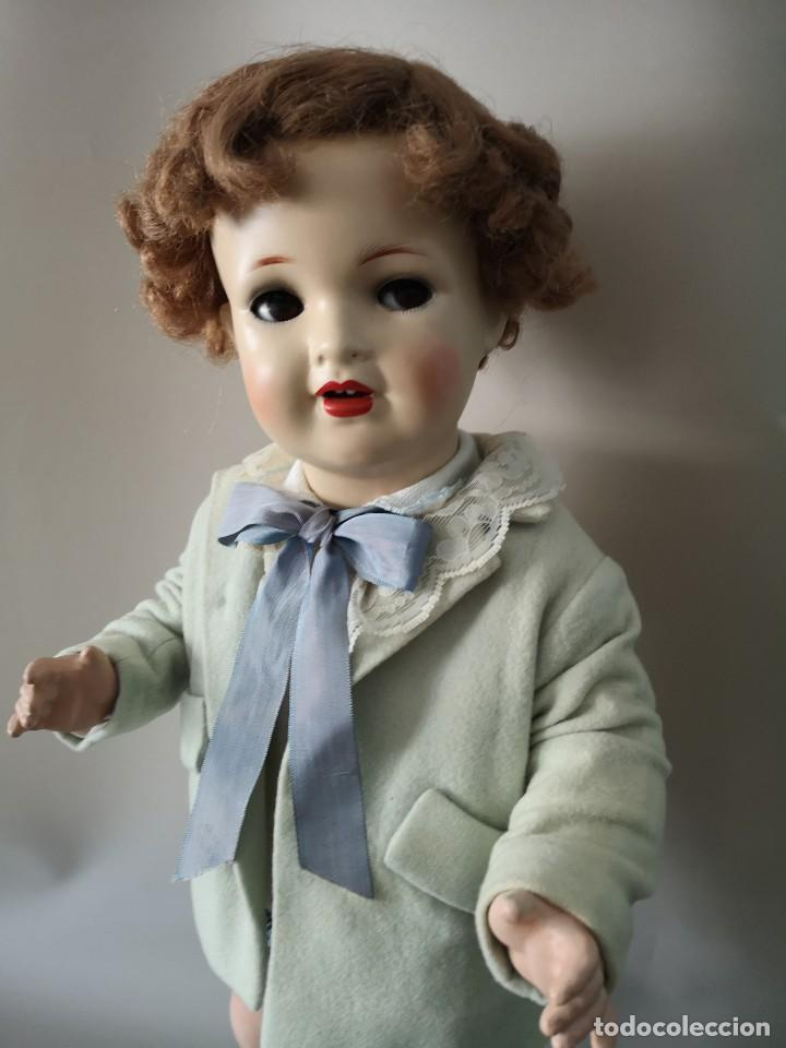 Muñecas Porcelana: IMPRESIONANTE MUÑECO FRANCES ,PRINCIPIO DEL SIGLO XX ,58CM,MARCADO - Foto 2 - 216546975