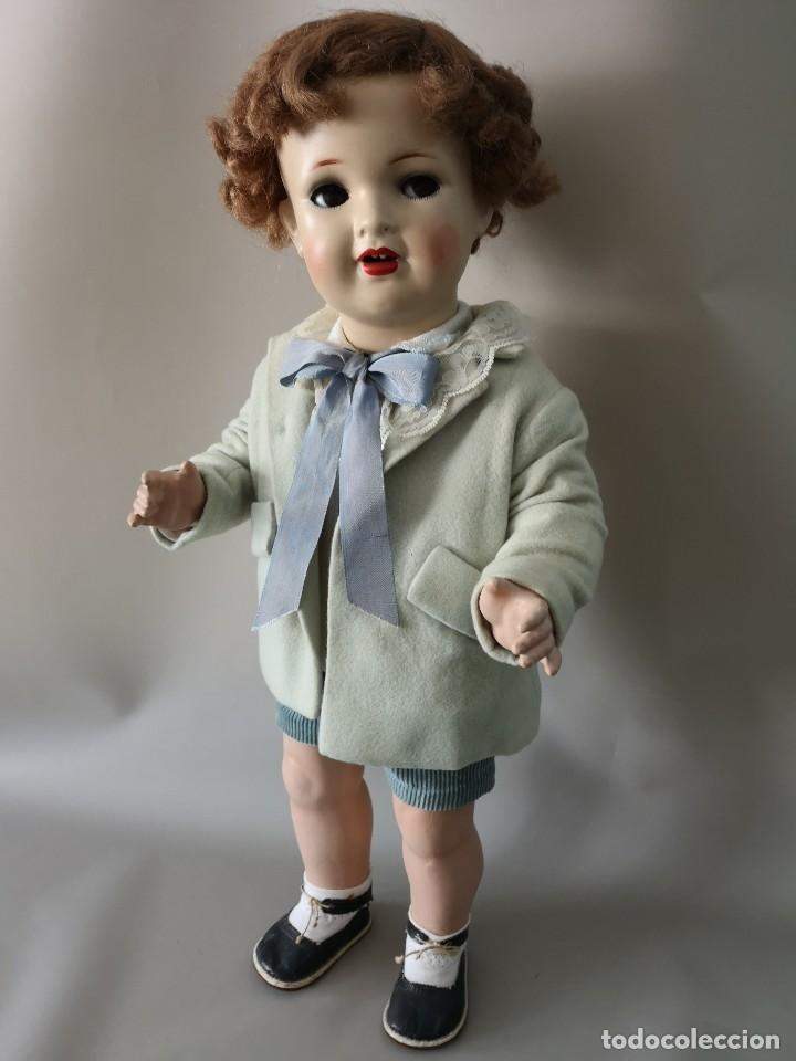 Muñecas Porcelana: IMPRESIONANTE MUÑECO FRANCES ,PRINCIPIO DEL SIGLO XX ,58CM,MARCADO - Foto 3 - 216546975