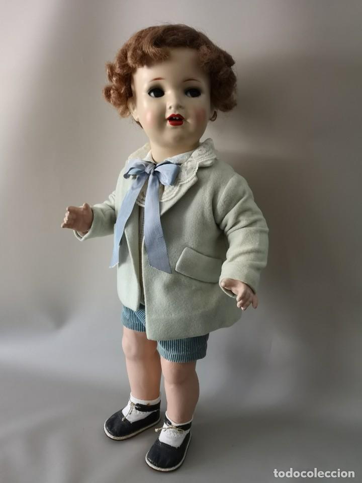 Muñecas Porcelana: IMPRESIONANTE MUÑECO FRANCES ,PRINCIPIO DEL SIGLO XX ,58CM,MARCADO - Foto 4 - 216546975
