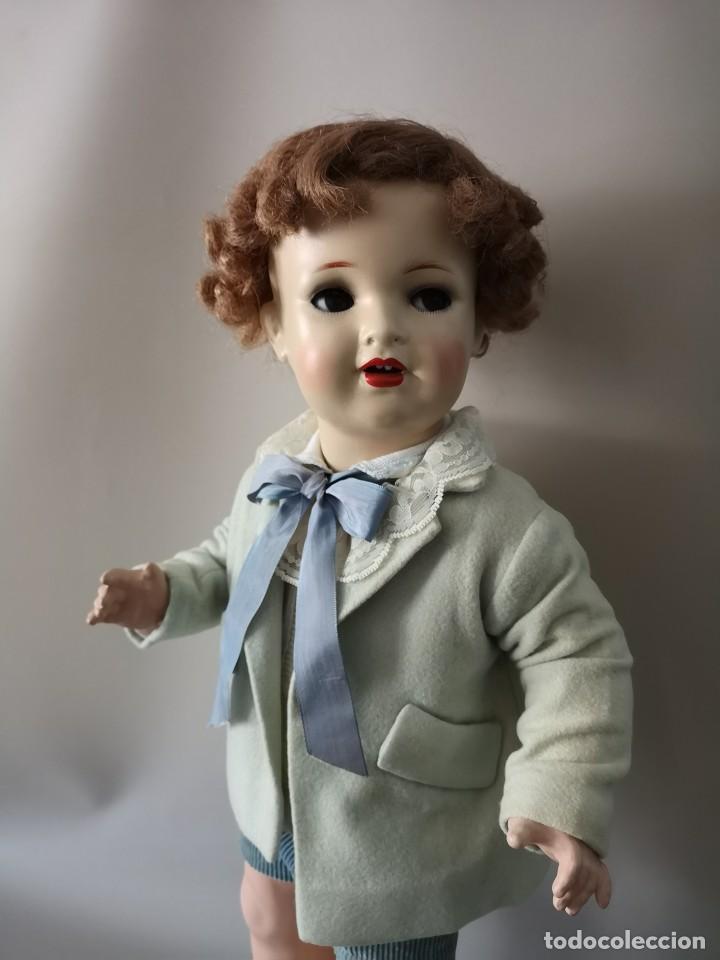 Muñecas Porcelana: IMPRESIONANTE MUÑECO FRANCES ,PRINCIPIO DEL SIGLO XX ,58CM,MARCADO - Foto 5 - 216546975