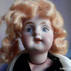 Bambole Porcellana: MUÑECA ARTICULADA FRANCESA MARCA LC ANCORA, TALLA 6 CABEZA PORCELANA DIENTES OJOS SE CIERRAN. Lote 216952571