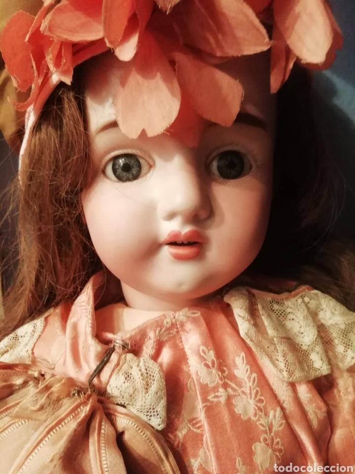 Muñecas Porcelana: Muñeca de porcelana francesa - Foto 2 - 216965420