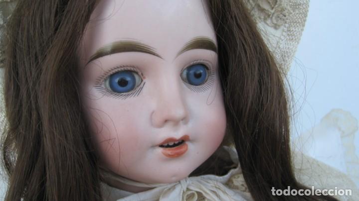 Muñecas Porcelana: PRECIOSA MUÑECA FRANCESA O ALEMANA, CABEZA EN BISCUIT . 58 CM. - Foto 3 - 217264478