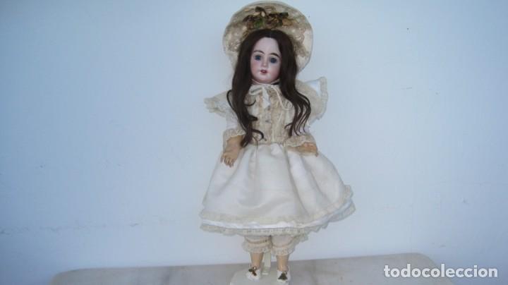 Muñecas Porcelana: PRECIOSA MUÑECA FRANCESA O ALEMANA, CABEZA EN BISCUIT . 58 CM. - Foto 4 - 217264478