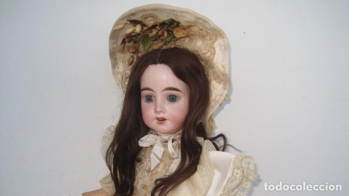 Muñecas Porcelana: PRECIOSA MUÑECA FRANCESA O ALEMANA, CABEZA EN BISCUIT . 58 CM. - Foto 5 - 217264478