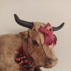 Bambole Porcellana: VACA AUTÓMATA SIGLO XIX. Lote 219737421