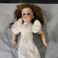 Muñecas Porcelana: MUÑECA ANTIGUA PORCELANA JUMEAU CABEZA DEP 7.. Lote 221575356