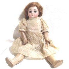 Muñecas Porcelana: MUÑECA JULES STEINER PORCELANA S XIX, BOCA CERRADA, CUERPO COMPOSICIÓN ARTICULADO. MED. 22 CM. Lote 221961163
