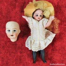 Muñecas Porcelana: MUÑECAS EN PORCELANA. FRANCIA (?). SIGLO XIX. Lote 222014142
