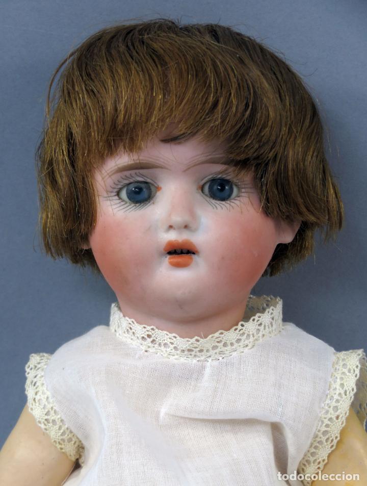 Muñecas Porcelana: Muñeca Ancora LC Ancla marca nuca 1 cabeza porcelana cuerpo composición ojos fijos 32 cm alto - Foto 2 - 223488578