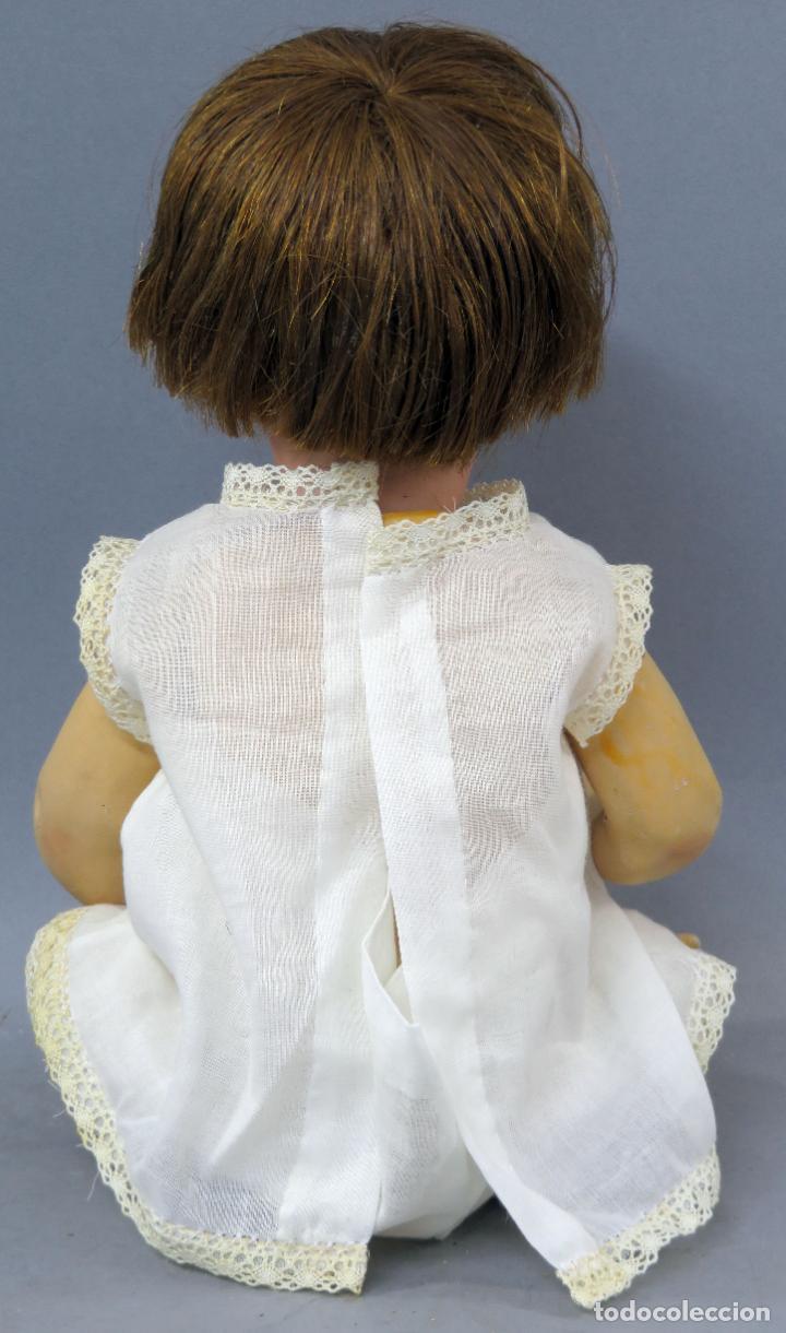 Muñecas Porcelana: Muñeca Ancora LC Ancla marca nuca 1 cabeza porcelana cuerpo composición ojos fijos 32 cm alto - Foto 5 - 223488578