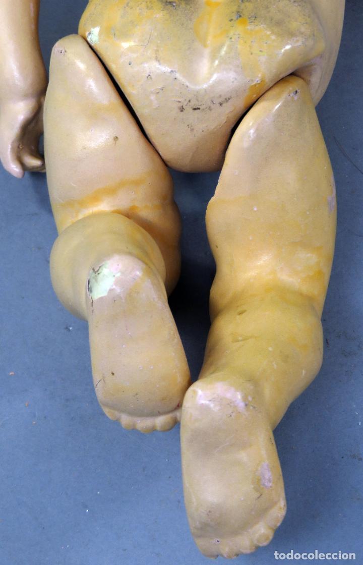 Muñecas Porcelana: Muñeca Ancora LC Ancla marca nuca 1 cabeza porcelana cuerpo composición ojos fijos 32 cm alto - Foto 11 - 223488578