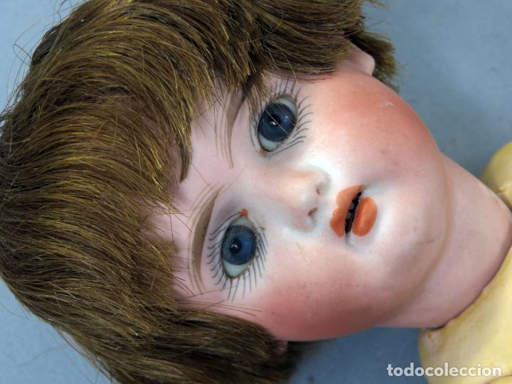 Muñecas Porcelana: Muñeca Ancora LC Ancla marca nuca 1 cabeza porcelana cuerpo composición ojos fijos 32 cm alto - Foto 16 - 223488578