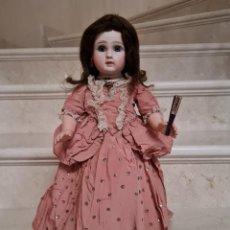 Bambole Porcellana: DE COLECCION,PRECIOSA MUÑECA CABEZA DE PORCELANA JULES NICOLAS STEINER,S. XIX. Lote 223909857