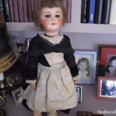 Bonecas Porcelana: BEBE JUMEAU 1887-90 BISCUIT .,VESTIDO AMA DE LLAVES ORIGINAL ,LOS ZAPATOS NO,DIPLOMA HONOR. Lote 223973110