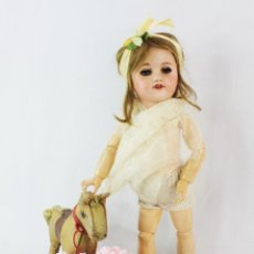 Bonecas Porcelana: REF T8 - MUÑECA COMPOSICIÓN UNIS FRANCE 60 140 - 35CM. PPS SXX. Lote 225155645