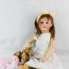 Muñecas Porcelana: REF T8 - MUÑECA COMPOSICIÓN UNIS FRANCE 301 140 - 65CM. PPS SXX. Lote 225502145