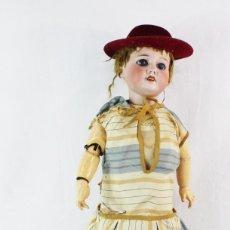 Muñecas Porcelana: REF T8 - MUÑECA COMPOSICIÓN S.F.B.J PARIS 3 JUMEAUX ANDADORA 50CM. Lote 225544195