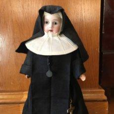 Muñecas Porcelana: MUÑECA HABITO MONJA PORCELANA MADERA.NUCA 12/0. Lote 226795135