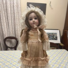 Bambole Porcellana: MUÑECA JUMEAU LONG FACE TALLA 12 65CM. Lote 232226645