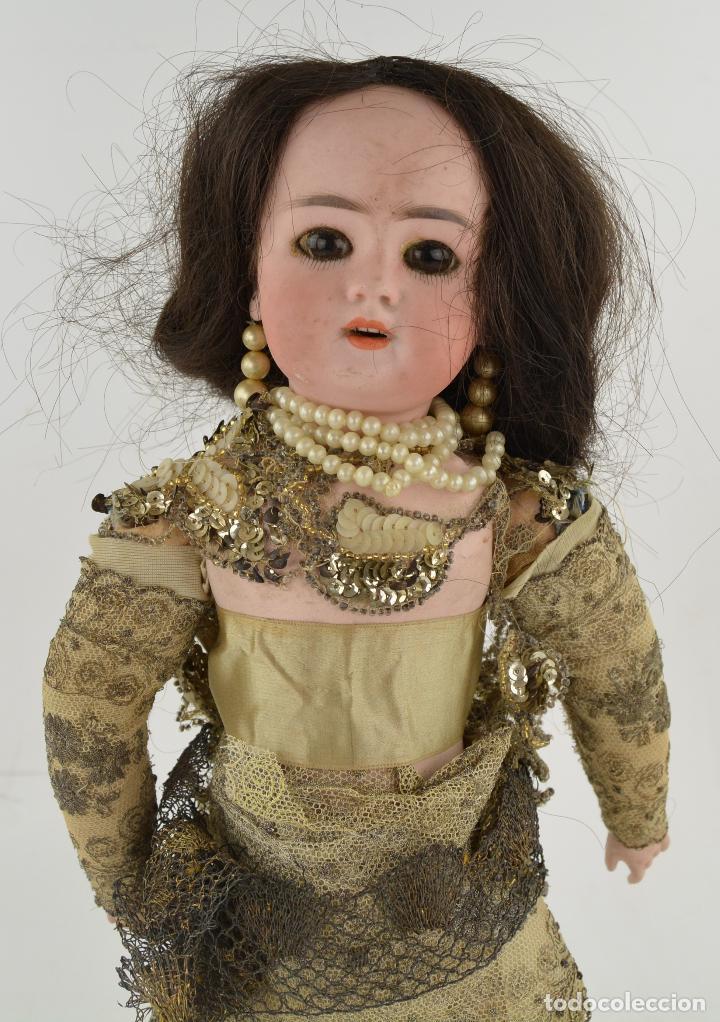 Muñecas Porcelana: Muñeca de porcelana DEP Jumeau. 39 cm altura - Foto 2 - 234481105