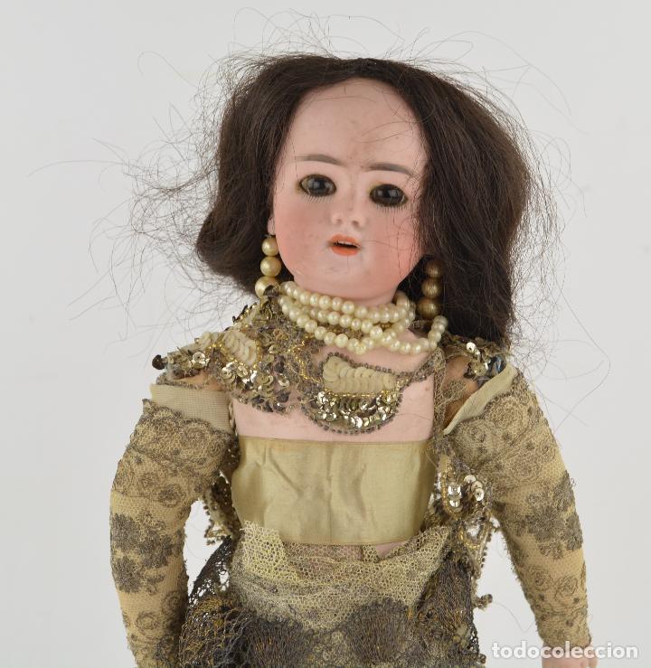 Muñecas Porcelana: Muñeca de porcelana DEP Jumeau. 39 cm altura - Foto 3 - 234481105