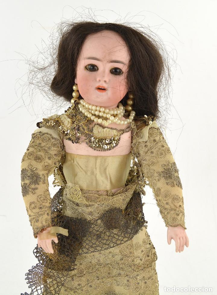 Muñecas Porcelana: Muñeca de porcelana DEP Jumeau. 39 cm altura - Foto 4 - 234481105