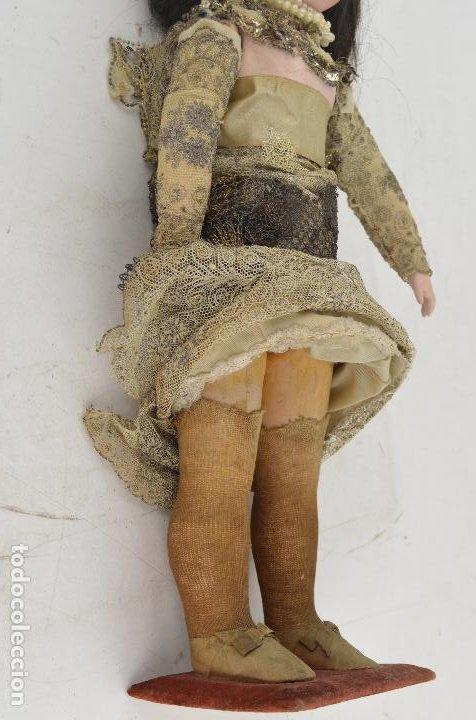 Muñecas Porcelana: Muñeca de porcelana DEP Jumeau. 39 cm altura - Foto 7 - 234481105