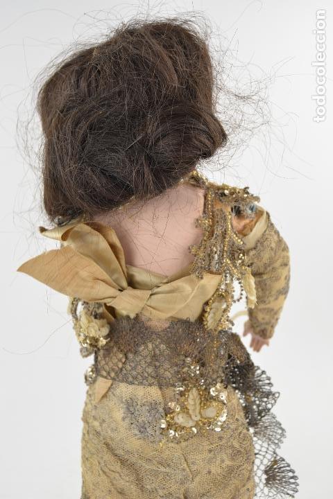 Muñecas Porcelana: Muñeca de porcelana DEP Jumeau. 39 cm altura - Foto 9 - 234481105