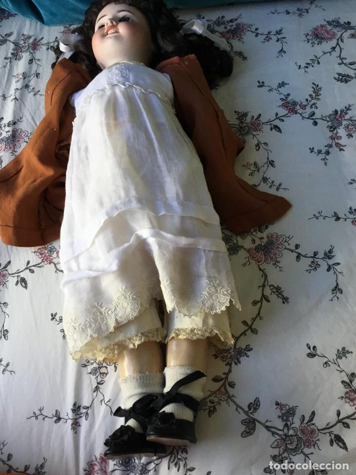 Muñecas Porcelana: Muñeca francesa S.F.B.J.Molde 60 - Foto 5 - 234912590