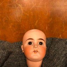 Bambole Porcellana: PRECIOSA CABEZA ANTIGUA DE PORCELANA TIPO A LAS FRANCESA CON FALTAS. Lote 238067950