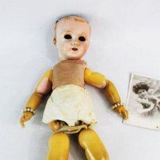 Bambole Porcellana: MUÑECA COMPOSICIÓN Y CABEZA PORCELANA PPS SXX UNIS FRANCE 50CM. Lote 238465865