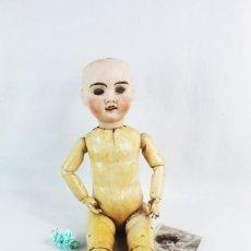 Bambole Porcellana: MUÑECA COMPOSICIÓN Y CABEZA PORCELANA PPS SXX JULES VERLINGUE. Lote 238466270