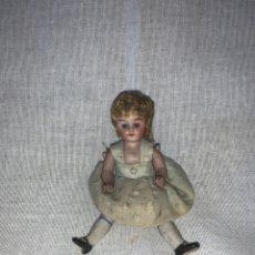 Bambole Porcellana: PRECIOSA MUÑECA EN PORCELANA ANTIGUA. Lote 241692690