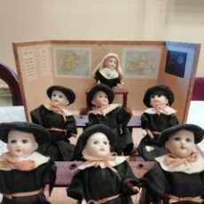 Muñecas Porcelana: COLEGIO DE MUÑECAS DE PORCELANA ANTIGUAS. Lote 243340810