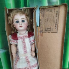 Bambole Porcellana: MUÑECA JUMEAU, BOCA CERRADA EN CAJA. Lote 247105690