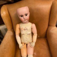 Muñecas Porcelana: PRECIOSA MUÑECA ANTIGUA DE PORCELANA FRANCESA. Lote 251959145