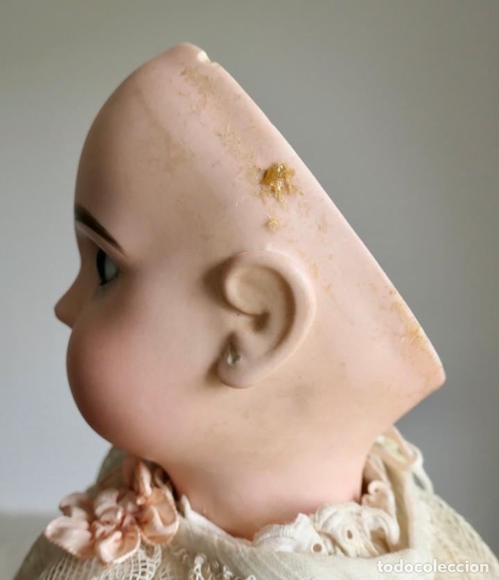Muñecas Porcelana: MUÑECA JUMEAU FRANCESA ARTICULADA CON CUERPO DE COMPOSICIÓN,MODELO PARLANTE,ROPA DE ORIGEN 52 CM - Foto 6 - 254885940