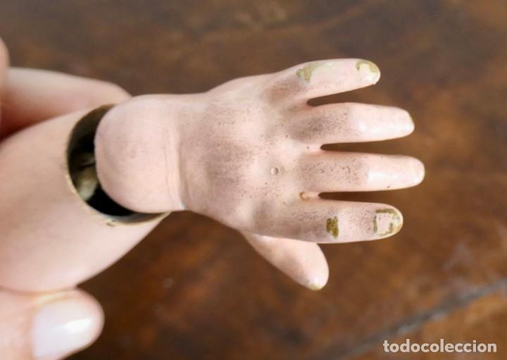 Muñecas Porcelana: MUÑECA JUMEAU FRANCESA ARTICULADA CON CUERPO DE COMPOSICIÓN,MODELO PARLANTE,ROPA DE ORIGEN 52 CM - Foto 16 - 254885940