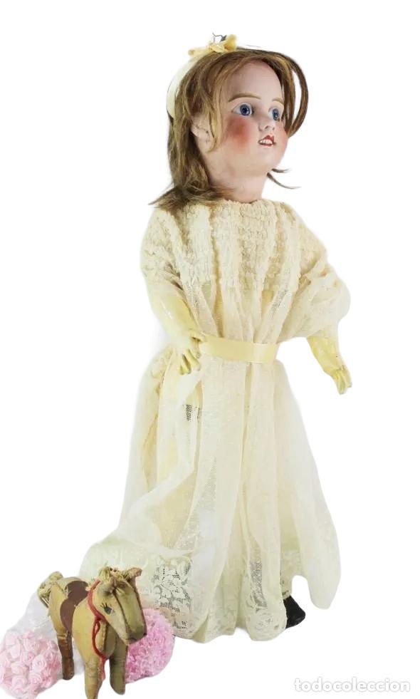 Muñecas Porcelana: Ref T8 - Muñeca composición Petite Francaise Jules Verlingue - 65cm. Pps SXX - Foto 9 - 225162732
