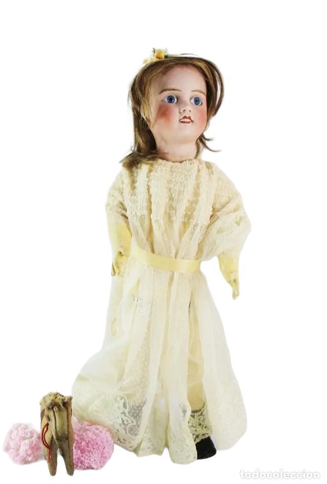 Muñecas Porcelana: Ref T8 - Muñeca composición Petite Francaise Jules Verlingue - 65cm. Pps SXX - Foto 10 - 225162732
