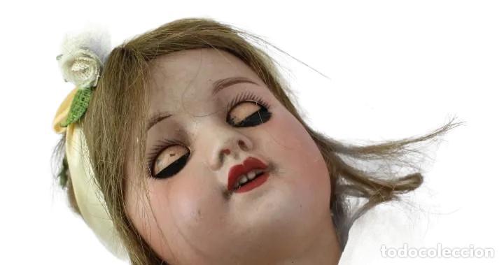 Muñecas Porcelana: Ref T8 - Muñeca composición Petite Francaise Jules Verlingue - 65cm. Pps SXX - Foto 12 - 225162732