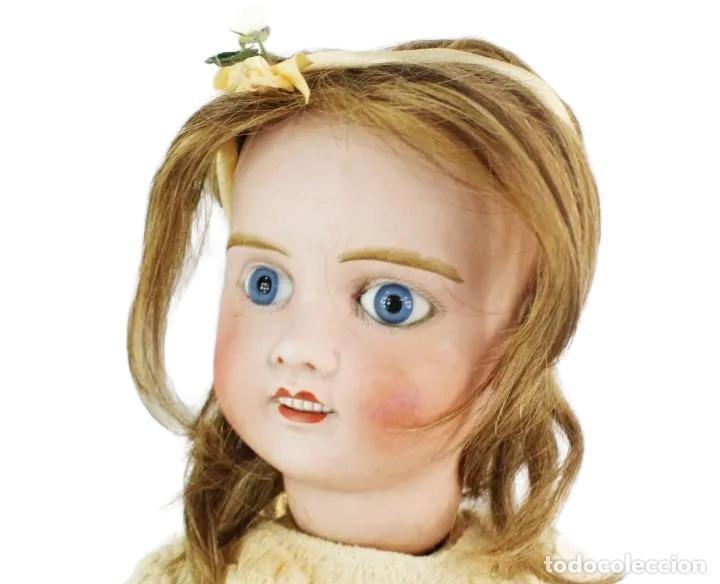 Muñecas Porcelana: Ref T8 - Muñeca composición Petite Francaise Jules Verlingue - 65cm. Pps SXX - Foto 13 - 225162732