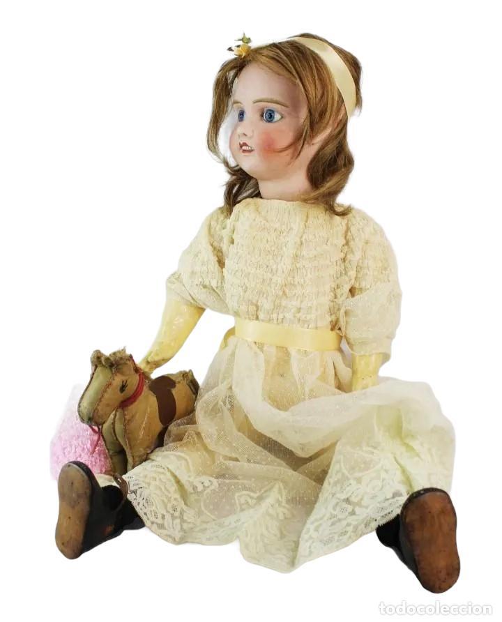 Muñecas Porcelana: Ref T8 - Muñeca composición Petite Francaise Jules Verlingue - 65cm. Pps SXX - Foto 16 - 225162732