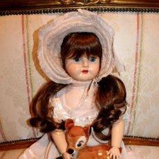 Muñecas Porcelana: ESPLENDIDA MUÑECA ANTIGUA COMPOSICIÓN FRANCESA,70 CM- DOLL,PUPPE. Lote 262030605