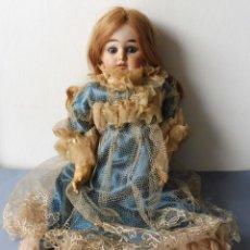Muñecas Porcelana: ANTIGUA MUÑECA FRANCESA CABEZA DE PORCELANA PRIMERA MITAD S.XX. Lote 264562714
