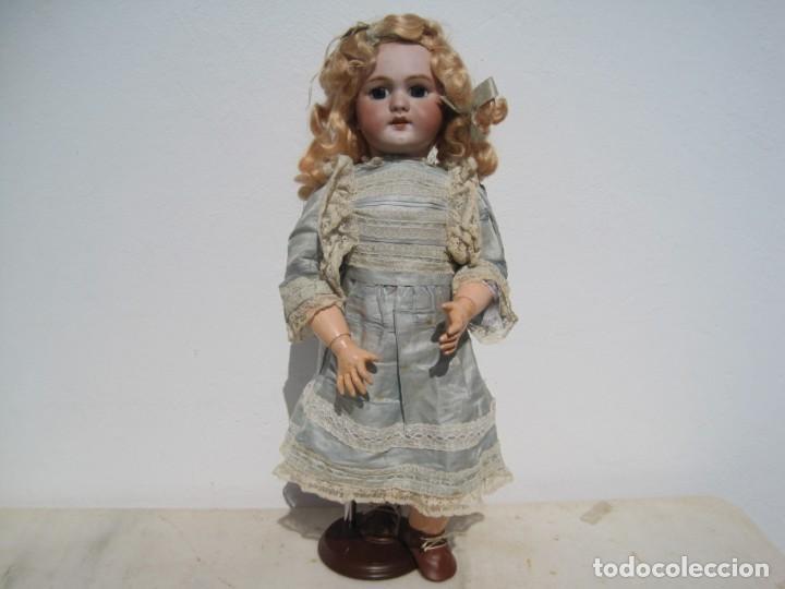 Muñecas Porcelana: PRECIOSA MUÑECA DEP JUMEAU, CABEZA DE BISCUIT, 1900,1915, 50 CM. - Foto 2 - 288014213