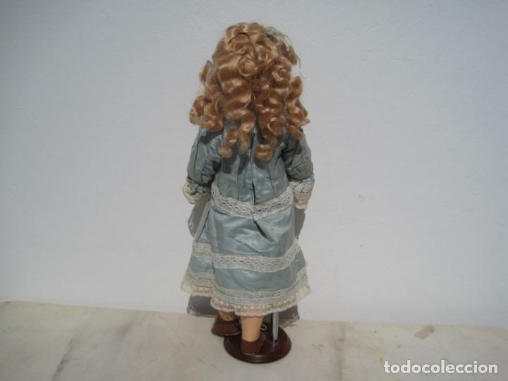 Muñecas Porcelana: PRECIOSA MUÑECA DEP JUMEAU, CABEZA DE BISCUIT, 1900,1915, 50 CM. - Foto 3 - 288014213