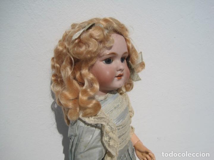 Muñecas Porcelana: PRECIOSA MUÑECA DEP JUMEAU, CABEZA DE BISCUIT, 1900,1915, 50 CM. - Foto 5 - 288014213