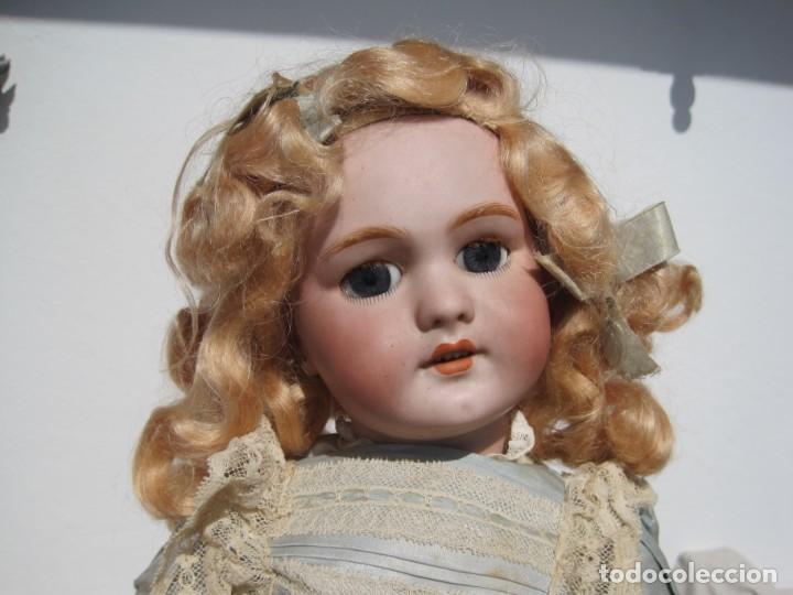 Muñecas Porcelana: PRECIOSA MUÑECA DEP JUMEAU, CABEZA DE BISCUIT, 1900,1915, 50 CM. - Foto 6 - 288014213